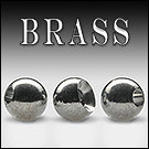 Головка латунь Brass Beads Nickel (Hends products)