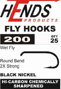 Крючки 200 Wet Fly (Hends products)