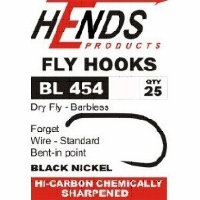 Крючки BL-454 Dry Fly (Hends products) безбородый