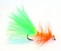 Woolly Bugger - Chartreuse-orange TPC