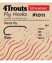 Крючок #1011 Perch Fly (4trouts)
